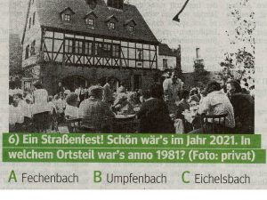 Eichelsbach 1981